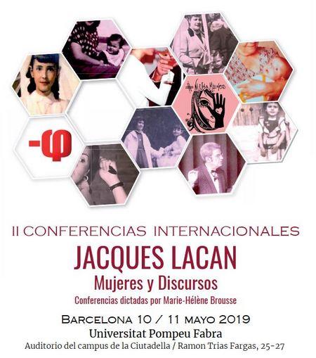 cartel II Conferencias Internacionales Jacques Lacan