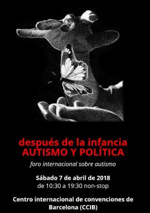 cartel foro internacional autismo y politica 2018