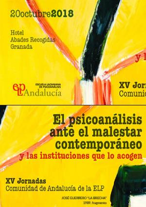 cartel xv jornadas elp andalucia 2018